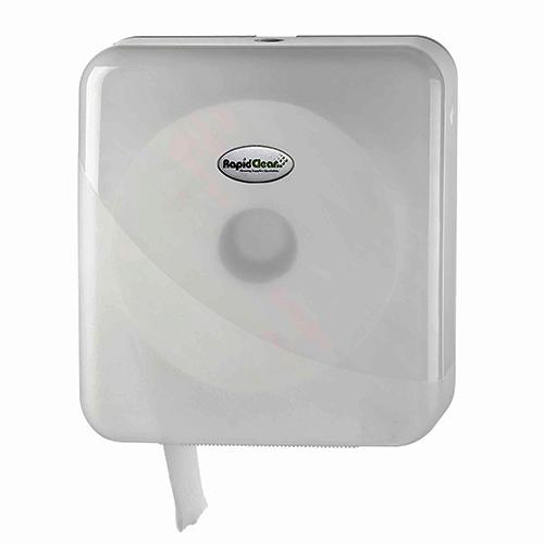 RapidClean Jumbo Toilet Tissue Roll Dispenser