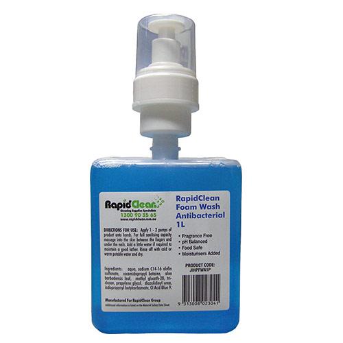 RapidClean Antibacterial Foam Wash Pod
