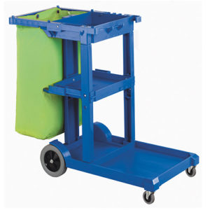 RapidClean Janitors Cart and Bag