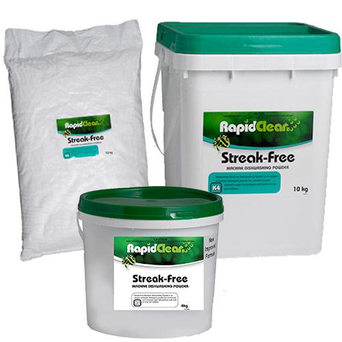 RapidClean Streak-Free Dishwasher Powder