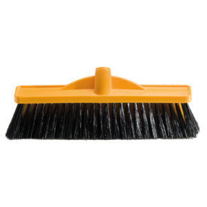 350mm Workshop Medium Stiff Poly Broom - Head Only