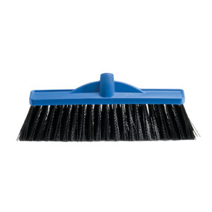350mm Industrial Extra Stiff Poly Broom - Head Only
