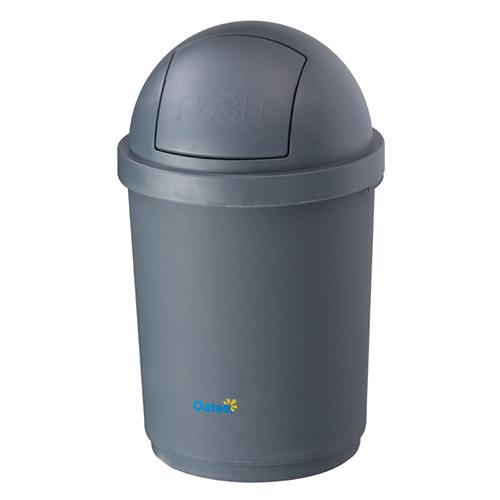Domed Bin - Grey 28L