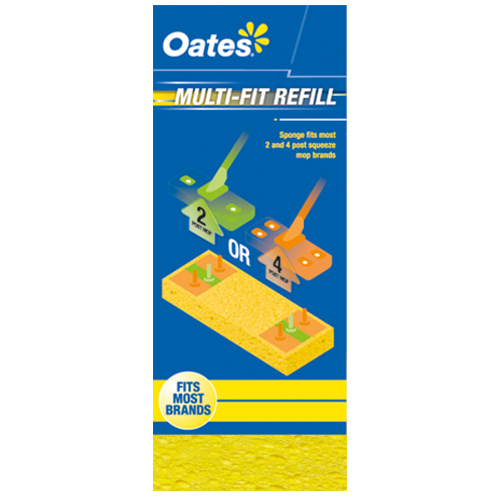 Multi-Fit Squeeze Mop Refill