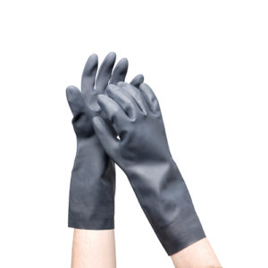 Chemical & Acid Resistant Gloves - Long 385mm