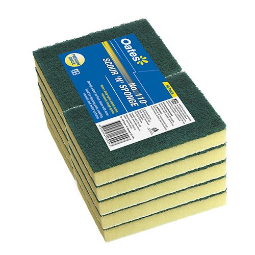 DuraClean No.110 Scour 'N' Sponge Heavy Duty - 10 Pack