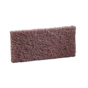 3M Doodlebug Brown Scrub 'n Strip Pad 8541