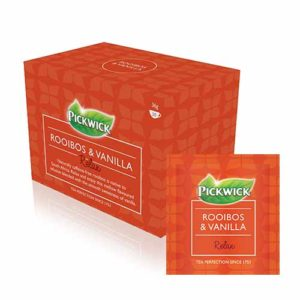 JDE Coffee Pickwick Rooibos with Vanilla Tea