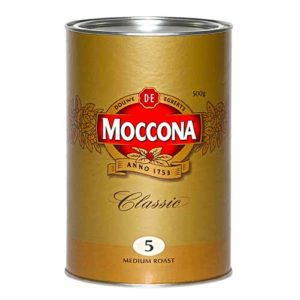 JDE Coffee Moccona Classic Medium Roast 500g