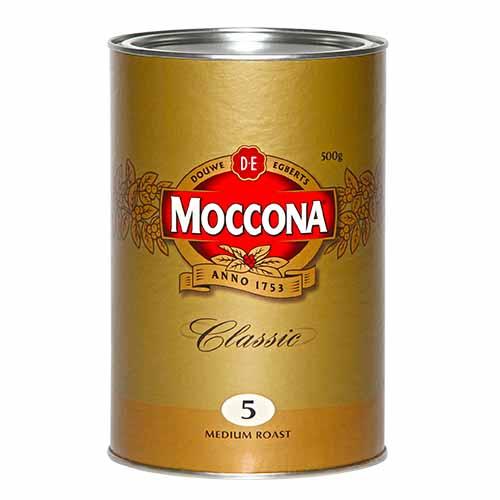 JDE Coffee Moccona Classic Medium Roast 500g