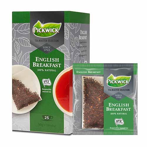 JDE Coffee Pickwick Tea Master Selection English Breakfast