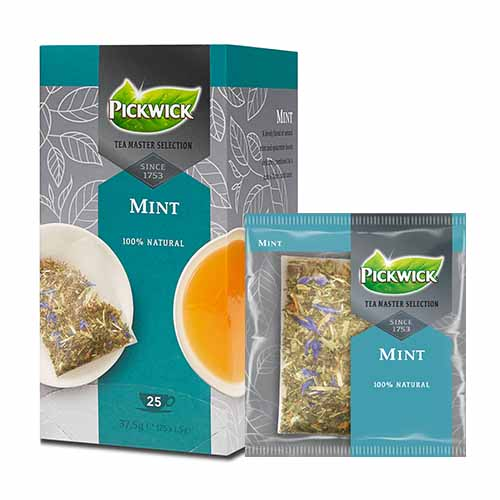 JDE Coffee Pickwick Tea Master Selection Mint