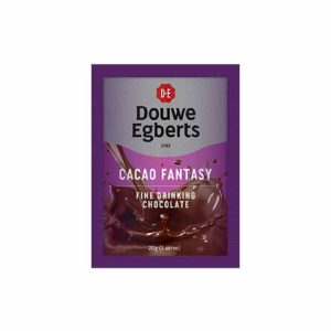 Dowue Egberts Cacao Fantasy Drinking Chocolate Single Serve Sachets