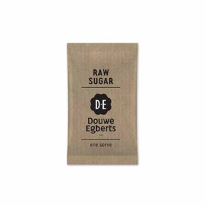 Douwe Egberts Raw Sugar Single Serve Sachets