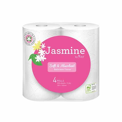 Livi Jasmine Toilet Paper 4pk – 1008