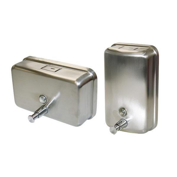 Stainless Steel Soap Dispenser (Vertical) 1.1 litre