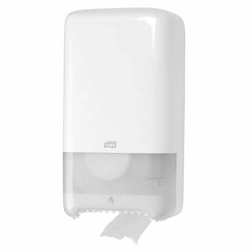 Tork T6 Twin Mid Size Toilet Roll Dispenser