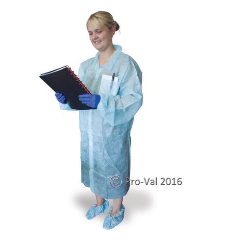 RCR Disposable Lab Coat
