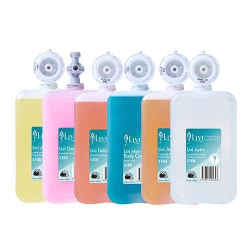 Livi Soaps and Hand Sanitiser Refills