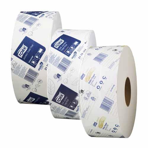 Tork T1 Jumbo Toilet Tissue Rolls