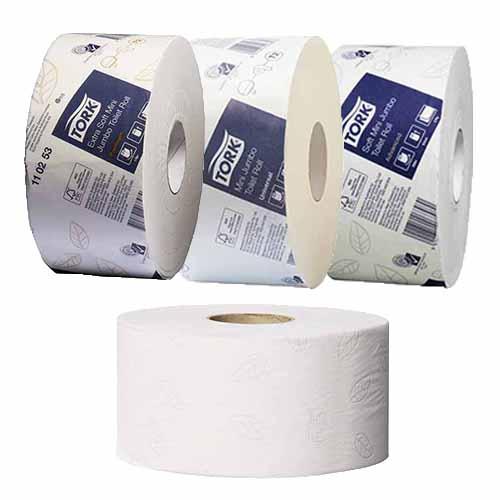 Tork T2 Mini Jumbo Toilet Tissue Rolls