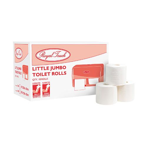 Royal Touch Little Jumbo Toilet Rolls