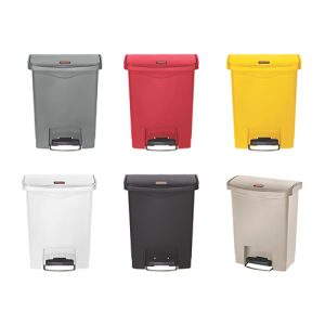 Rubbermaid Slim Jim Resin Front Step Bin 30L