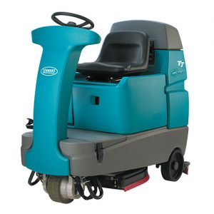 Tennant T7 Micro Ride on Floor Scrubber