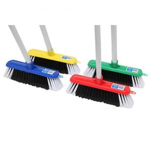 Edco Household Broom with Handle