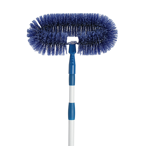 Edco Fan Brush with Telescopic Handle