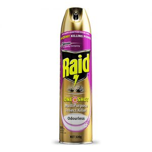 Raid One Shot Multipurpose Insect Killer 320G