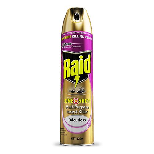 Raid One Shot Multipurpose Insect Killer 320G