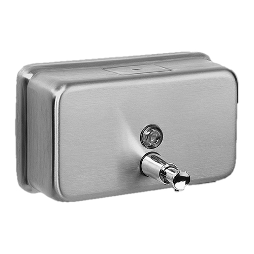 Davidson Washroom Bulk Fill 1.2L Stainless steel Horizontal Dispenser