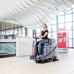 Viper AS530R Ride On Scrubber Dryer