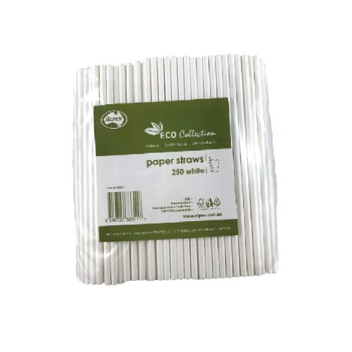 Alpen Regular Paper Drinking Straws