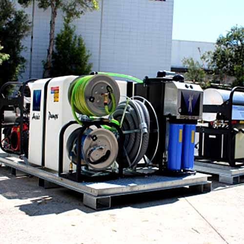 Aussie Pumps Hydro Loop Mobile Steam Cleaner