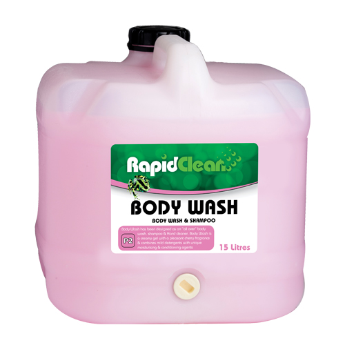 RapidClean Hair and Body Wash