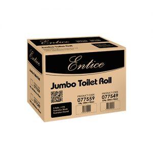 Entice Jumbo Toilet Rolls