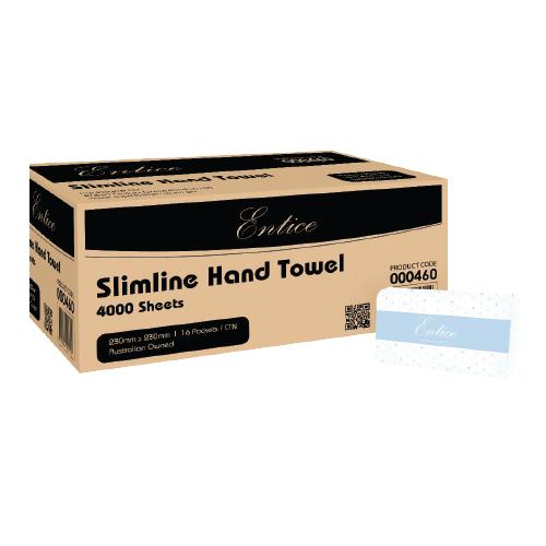 Entice Slimline Hand Towel 4000 Sheets