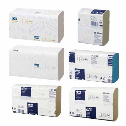 Tork Xpress H2 Multifold Hand Towels