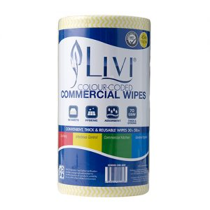Livi Commercial Wipes 45M Roll