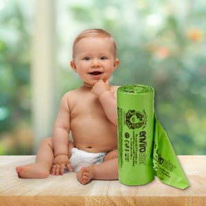 Envirostar Compostable Nappy Waste Bags