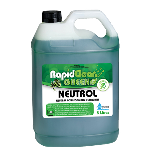 RapidClean Neutrol Low Foaming Detergent