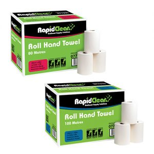 RapidClean Roll Hand Towel 80m - 100m