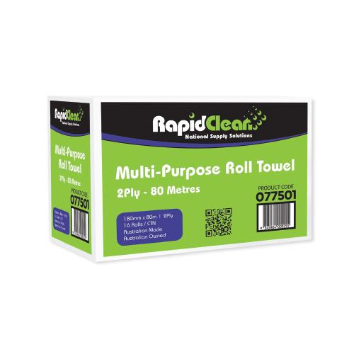 RapidClean Multi-Purpose Roll Towel