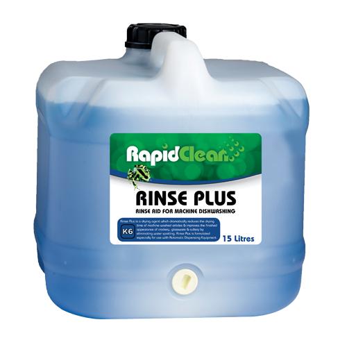 Rinse Plus machine rinse aid