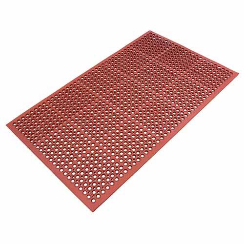 Mattek Safety Cushion Mat - Grease Proof Terracotta