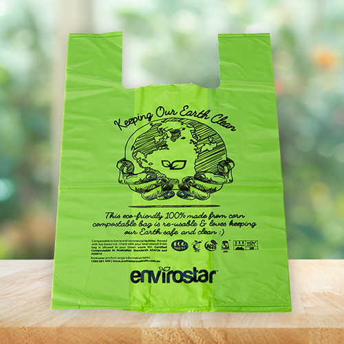 Envirostar Compostable Singlet Bags 35um