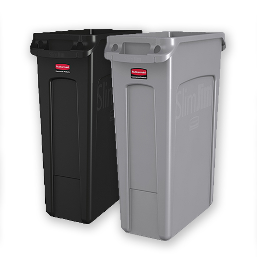 Rubbermaid Slim Jim with Venting Channels 87L