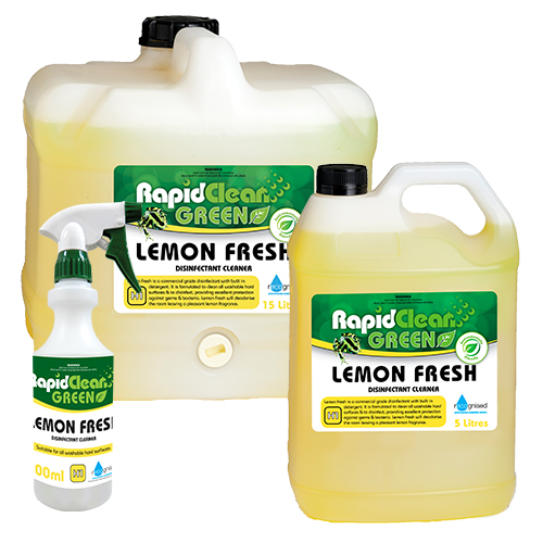 RapidClean Lemon Fresh Disinfectant